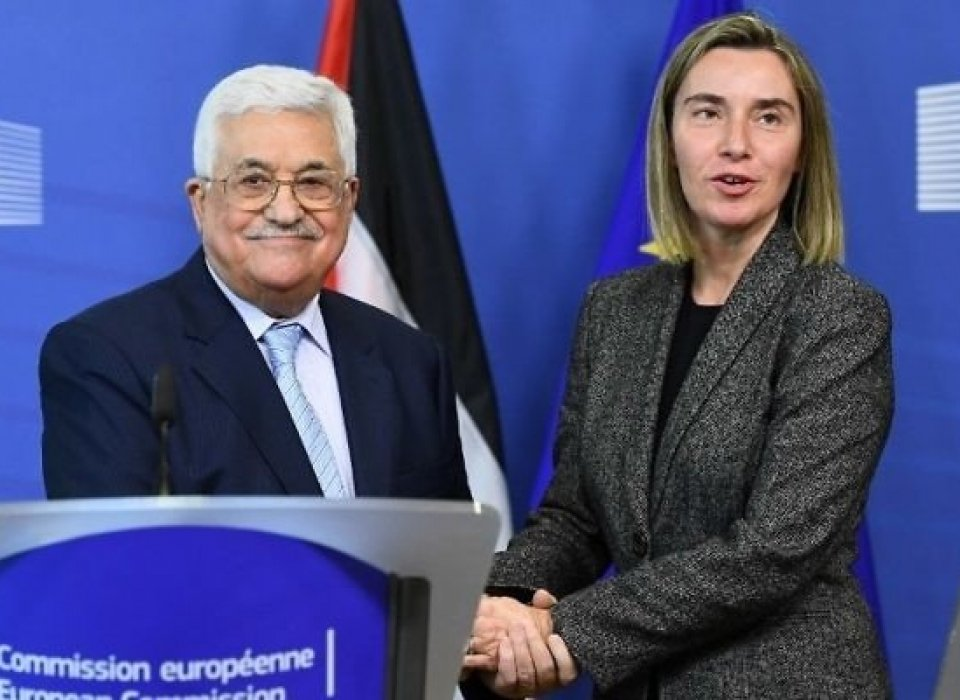 Abbas looking to fill US-sized hole with more support from EU — report