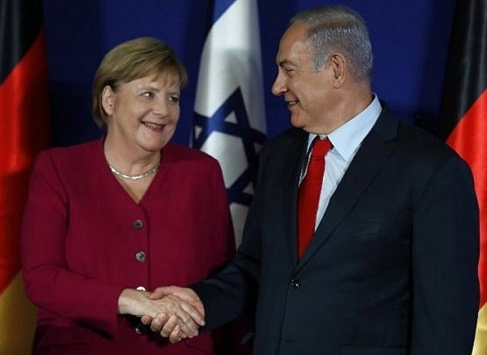 German leader calls Netanyahu, stresses need for two-state solution