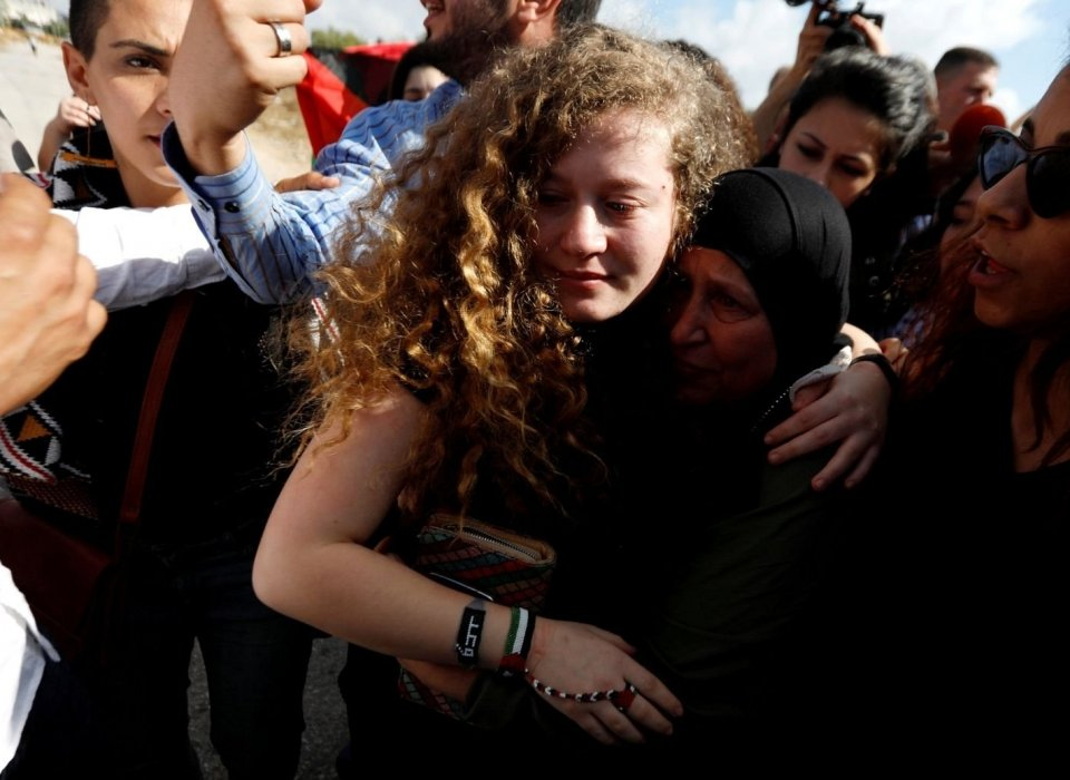 PALESTINIAN ACTIVIST AHED TAMIMI RELEASED, BUT EXPERTS SAY ISRAEL HAS BIGGER PROBLEM