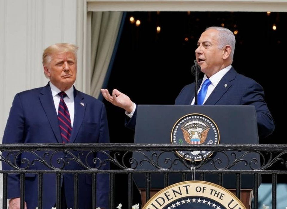 Opinion / Trump and Netanyahu's Big Fat Fake Peace Deal