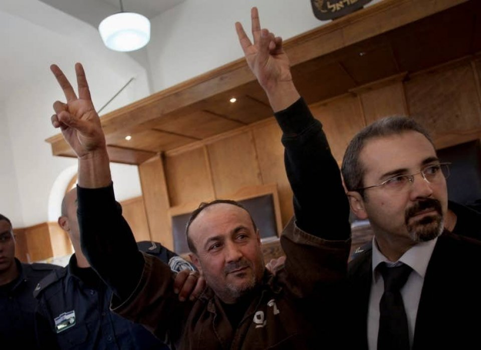 Opinion | A President in Handcuffs: Why Palestinians Should Vote for Barghouti