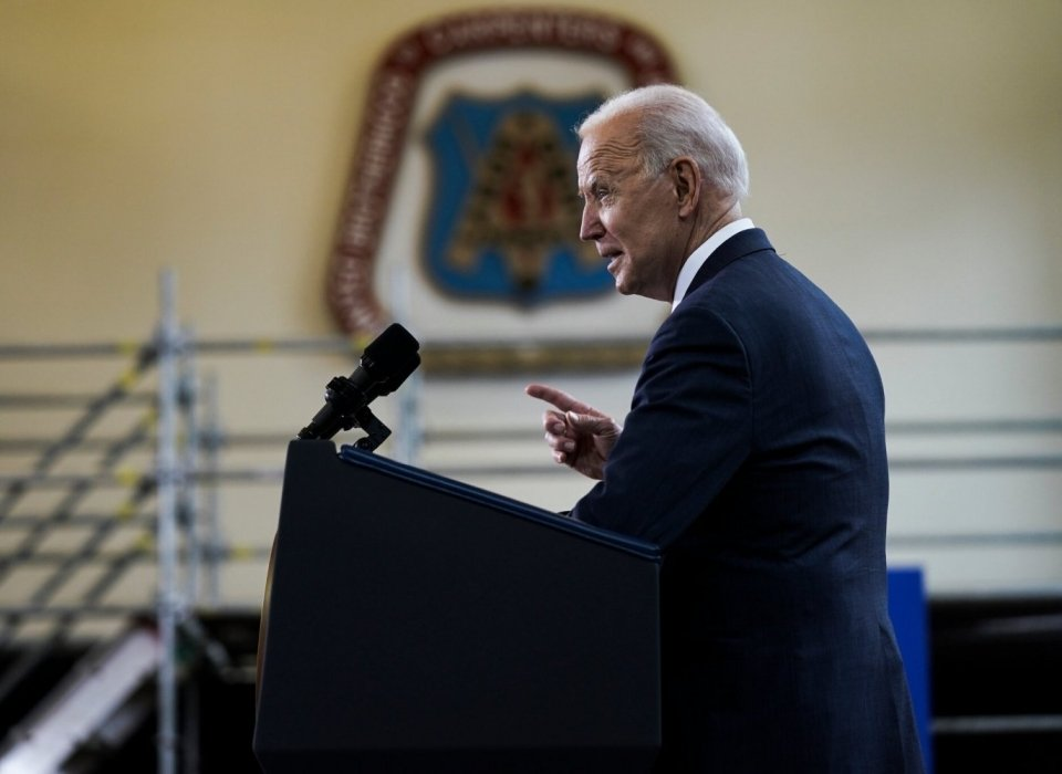Biden Details $2 Trillion Plan to Rebuild Infrastructure and Reshape the Economy