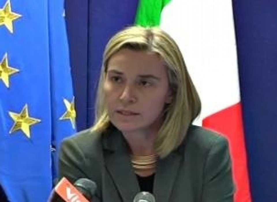 'We need a Palestinian state,' new EU foreign affairs chief says in Gaza