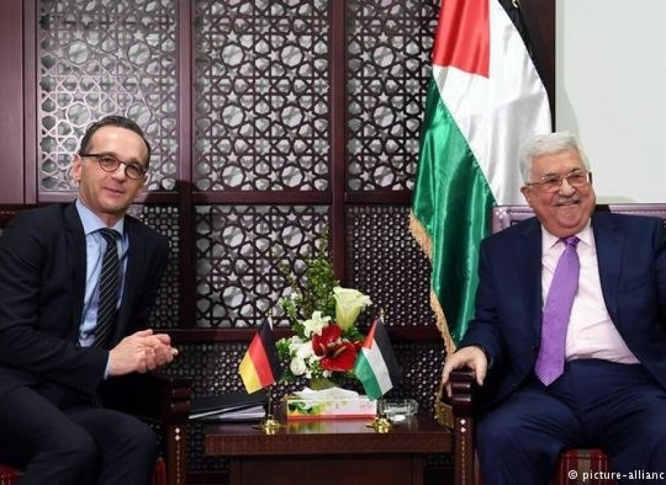 Israeli-Palestinian peace process: 'Don't tear down bridges,' Heiko Maas warns