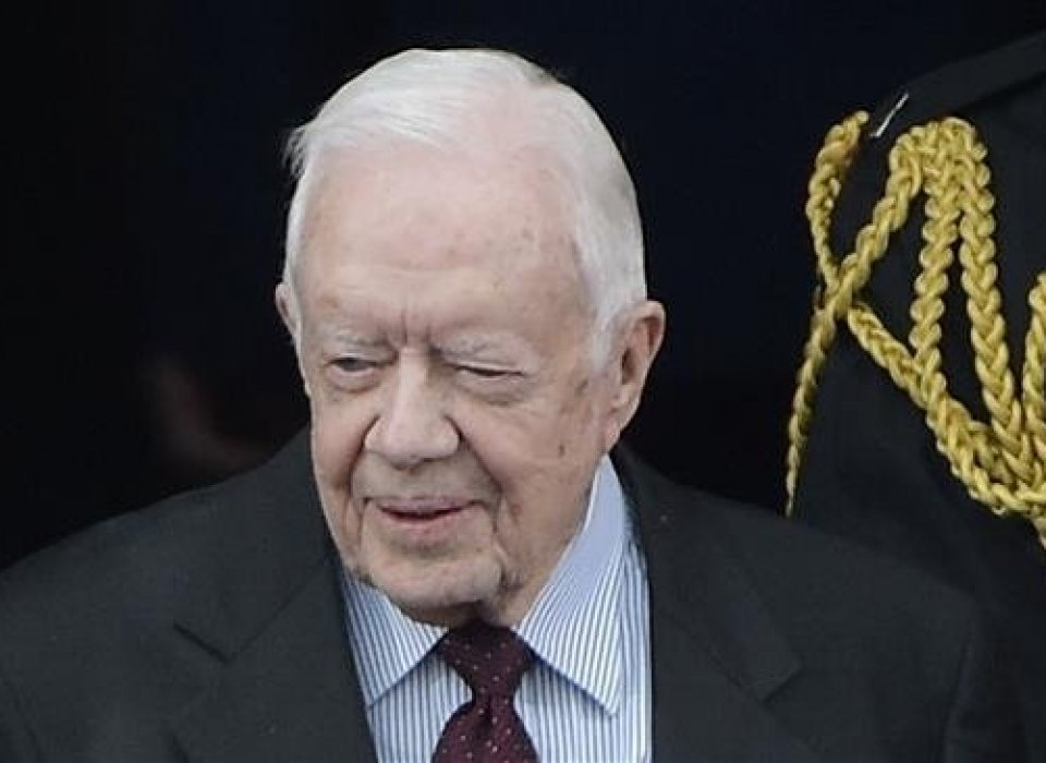 Carter warns of 'catastrophic' consequences Trump's policy on Palestine