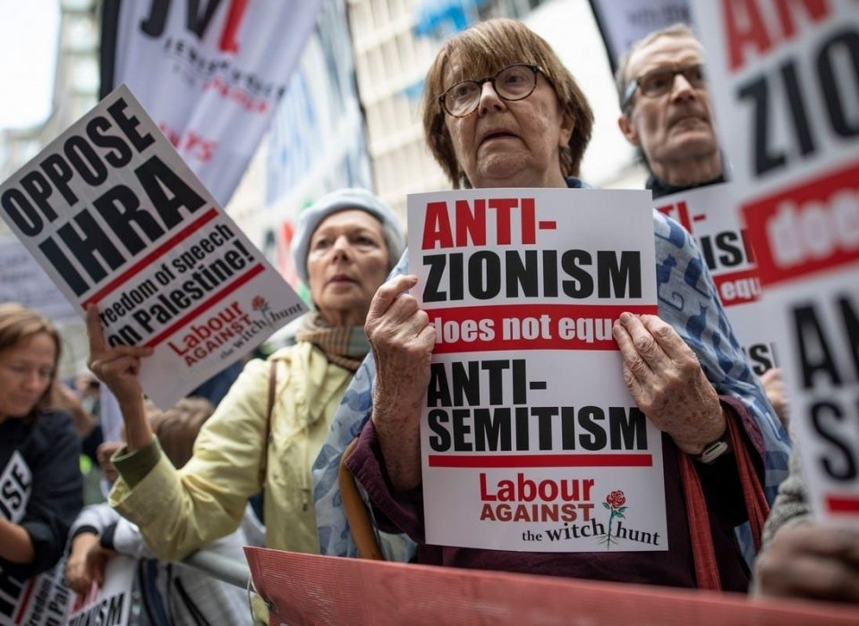 It is necessary to be an anti-Zionist in order to reject anti-Semitism