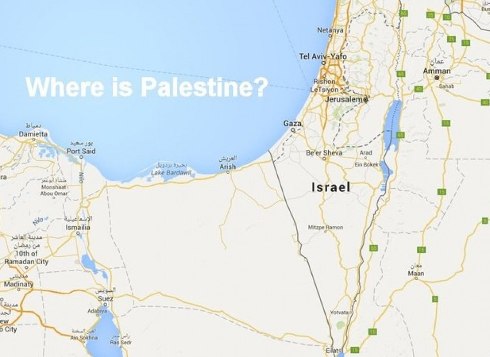 Google: Put Palestine On Your Maps!