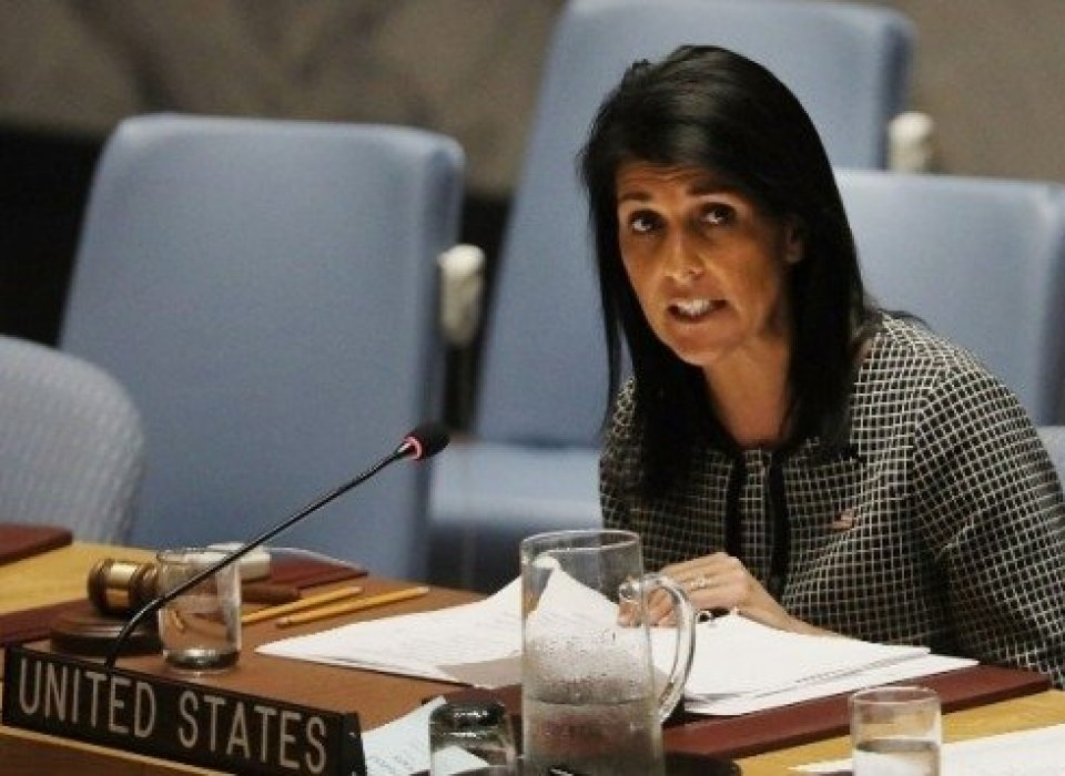 Haley slams UN human rights report for 'singling out Israel'