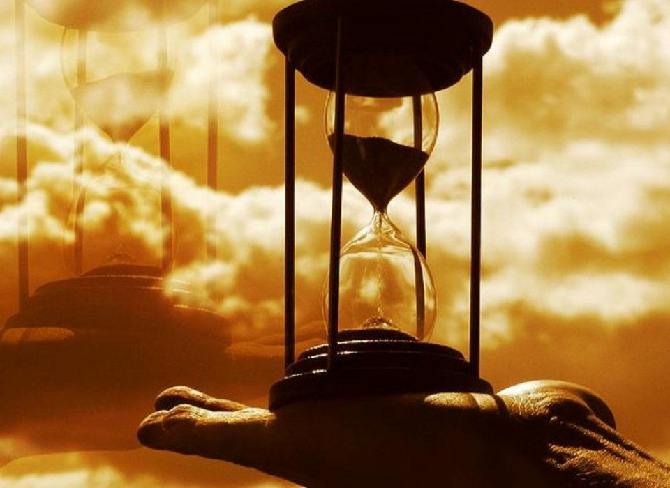 The Hourglass … Time Belongs to God