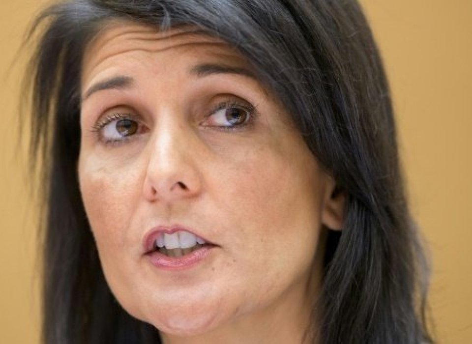 US envoy Haley in Jerusalem vows to defend Israel at UN
